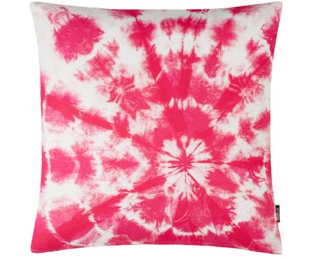 Kissenhülle Barbados mit Batik Print in Pink
