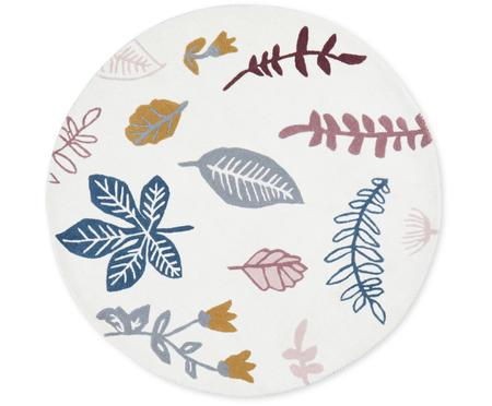 Tapis en laine Pressed Leaves
