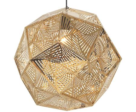 Ethno-hanglamp Ume goudkleurig
