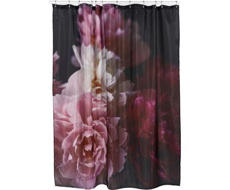 Sprchový záves s kvetinovým vzorom Rosemarie