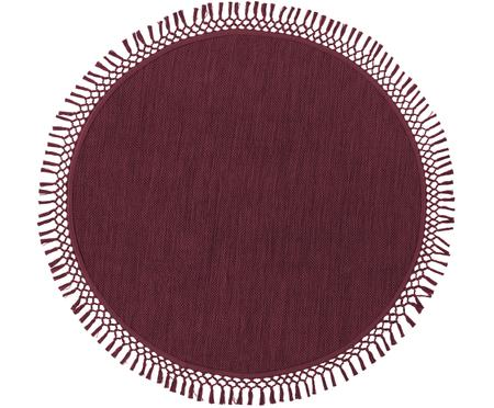 Tappeto rotondo in cotone Sibi