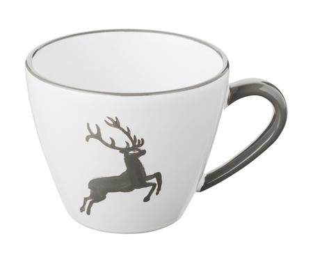 Kaffeetasse Gourmet Grauer Hirsch