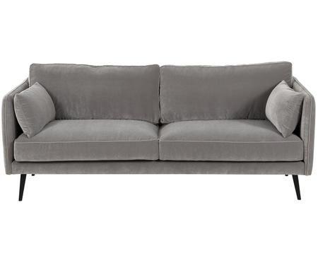 Canapé en velours Paola (3places)