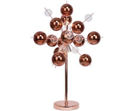 Tafellamp met bollen Explosion, koper