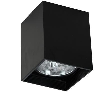 Stropné svietidlo Downlight, čierna