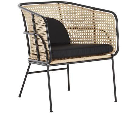 Rotan loungestoel Merete