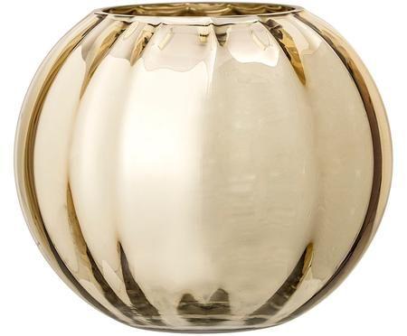 Glas-Vase Viola in Gold