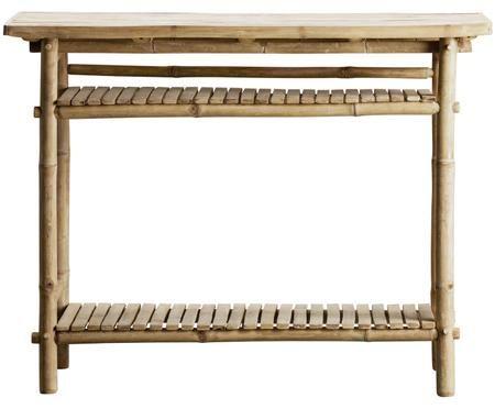 Konsola z drewna bambusowego Bamca