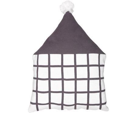 Coussin peluche de coton bio House