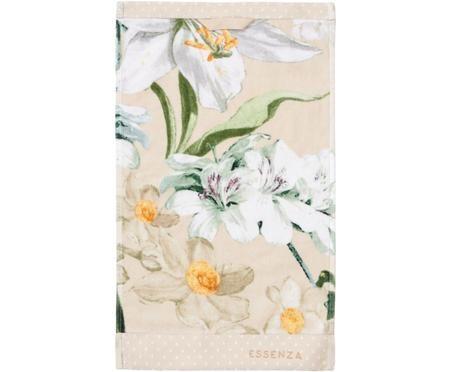 Handdoek Rosalee met bloemenpatroon