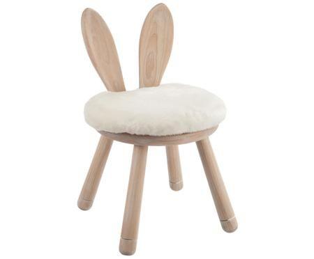 Sedia per bambini coniglietto Bunny