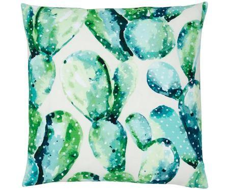 Kissenhülle Tobin mit Kaktus Print