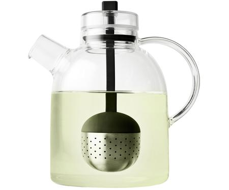 Teiera di design in vetro con colino Kettle