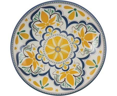 Ciotola da portata dipinta a mano Sicilia