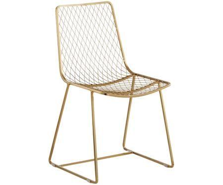Kovová židle Kira