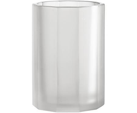 Kleine Glas-Vase Plisa