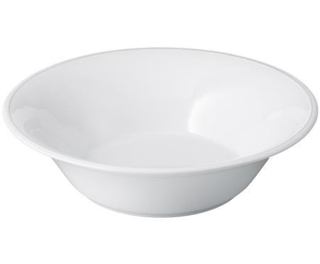 Salatschüssel Constance in Weiß
