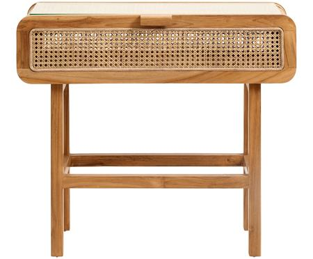Konzolový stolek s ratanovou pleteninou Aising