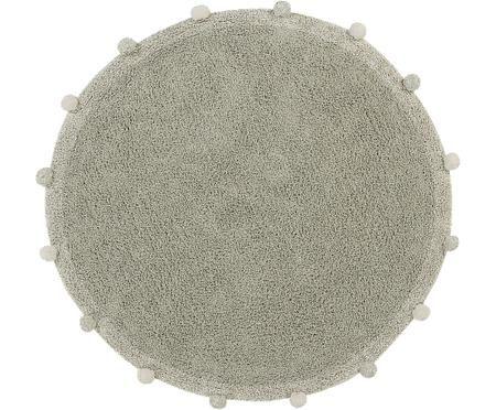 Waschbarer runder Teppich Bubbly, handgefertigt