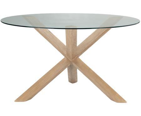 Mesa de comedor redonda Hélice