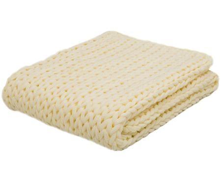 Gebreide plaid Chunky Knit