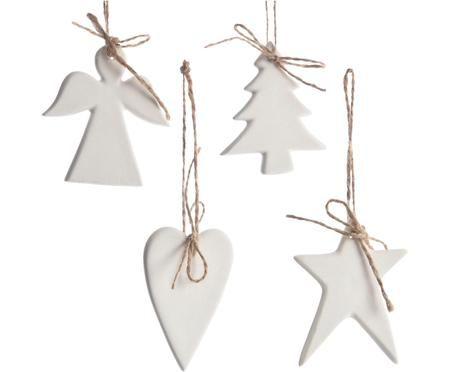 Boomhangersset Ornament, 4-delig