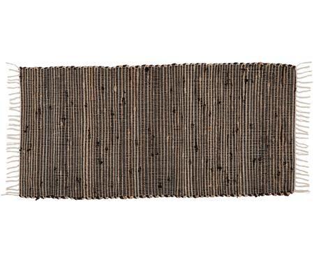 Tappeto in cotone/fibre di canapa Arlid