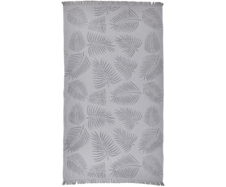 Telo mare in cotone Capri Palm Leaves