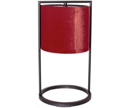 Sametová stolní lampa Vieste