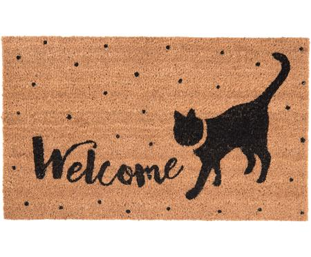 Deurmat Welcome Cat