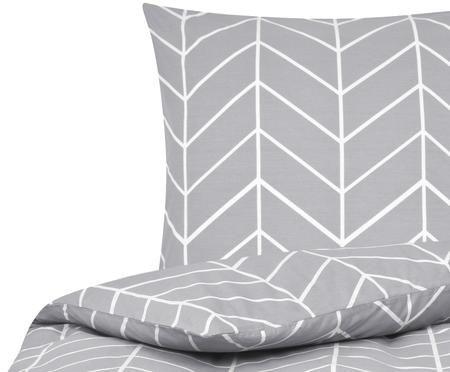 Renforcé-Bettwäsche Mirja mit grafischem Muster