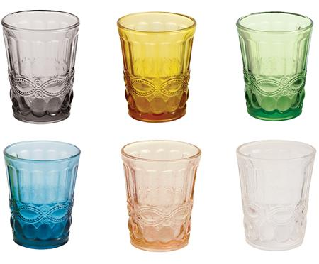 Ensemble de verres à eau Nobilis, 6élém.