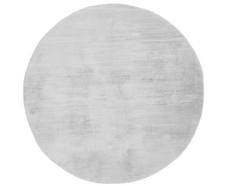 Sehr flauschiger Kunstfell-Teppich Rabea, rund