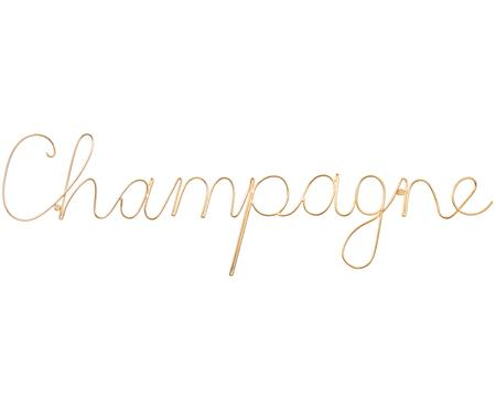 Decoración de pared Champagne