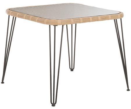 Table en plastique tressé Sola
