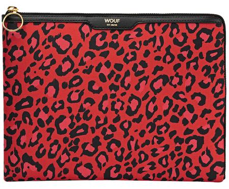 IPad Air-hoes Red Leopard
