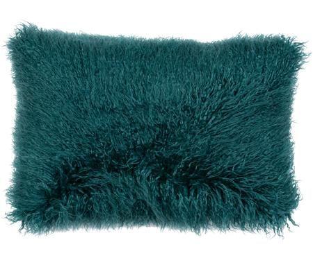 Dwustronna poszewka na poduszkę ze sztucznym futrem Oscar