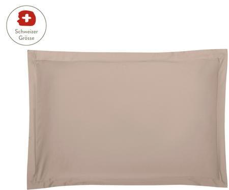 Baumwollsatin-Kissenbezug Premium mit Stehsaum