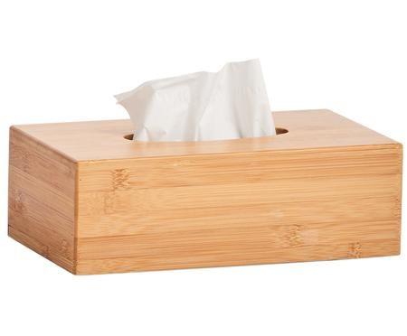Pudełko na chusteczki z drewna bambusowego Bamboo