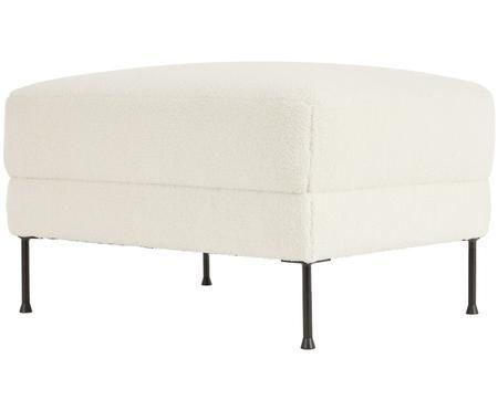 Sgabello da divano in teddy Fluente