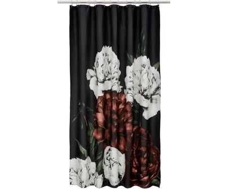 Rideau de douche avec imprimé floral Allison