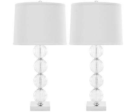 Lampa stołowa XL Luisa, 2 szt.
