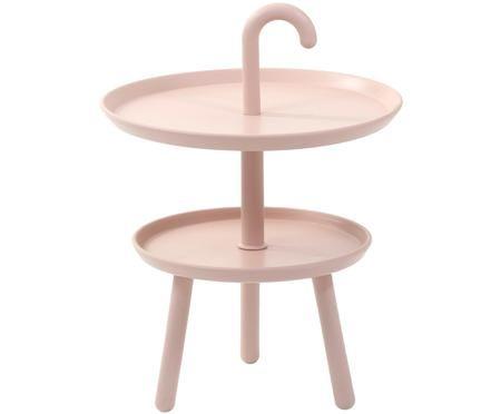 Mały stolik pomocniczy z tworzywa sztucznego Rodi