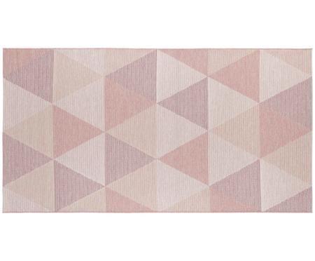 In- und Outdoor Teppich Sevres in Rosatönen