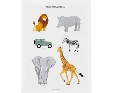 Poster Serengeti