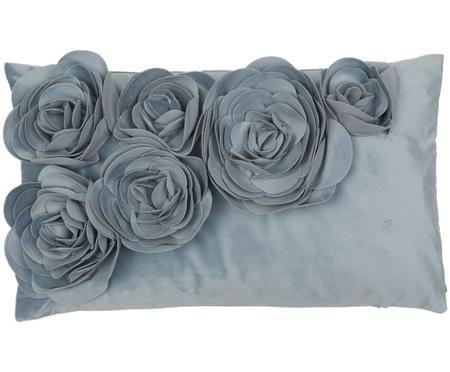 Fluwelen kussenhoes Floral