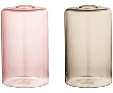 Vasen-Set Uwe aus Glas, 2-tlg