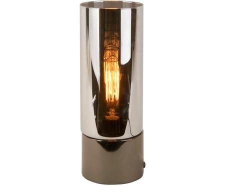 Lampe à poser LED en verre teinté Lax
