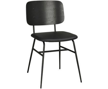 Krzesło z drewna Brent