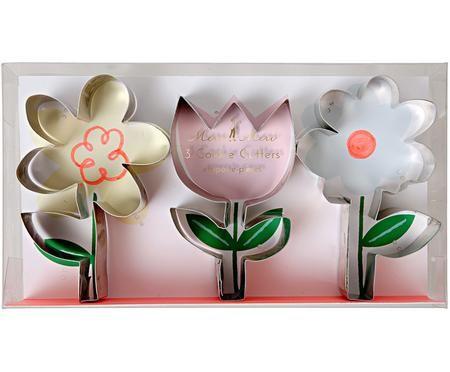 Set formine per biscotti Flower, 3 pz.